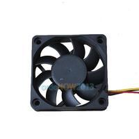 O3T# 60x60x15mm 3 Pin 12V Case Computer Cooler Cooling Fan PC Black E