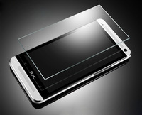 2013 Brand New Premium Real Tempered Glass Film Screen Protector for HTC ONE M7 epacket free shipping
