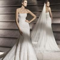 Free shipping 2013 short trailing vintage princess wedding dress sweet fish tail wedding dress y024