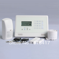2013 new arrived Intelligent GSM Auto-Dial Alarm System security system home alarm