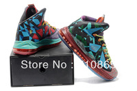 Free shipping Lebron 10 X MVP gs women basketball shoes,size36-40