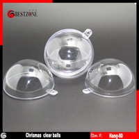 Free shipping, clear plastic balls or transparent christmas ball or plastic capsules, diameter 8cm , transparent type