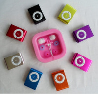 Small clip mp3 belt screen card clip mp3 player memory metal material