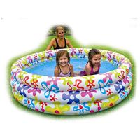 Intex 168*41cm swimming pool inflatable kid pool 3 ring pool, kid toy, inflatable toy,water toy
