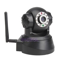 NI5 Wireless WIFI IP Network Night Vision Security 2-Way Audio Tilt Black Camera