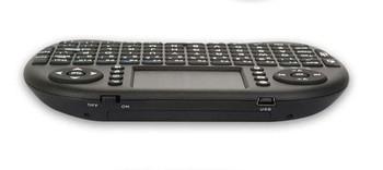 wireless Russian keyboard Rii mini i8 2.4G air mouse Multi-media touchpad Remote control keyboard