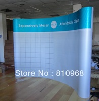 Custom High Quality POP up Banners, 3X3 (230X230CM), free shipping to Russia
