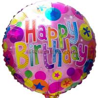 Cotton candy birthday party supplies birthday aluminum foil balloon party balloon