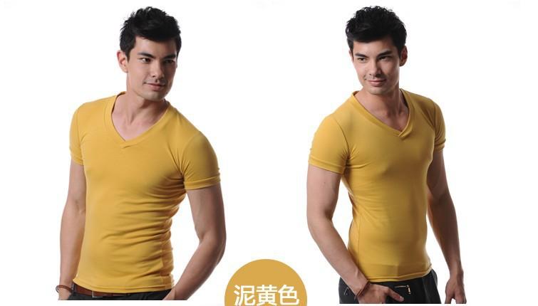 мужчины желтый хлопок тонкий комфортно дизайнер