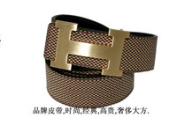 High Quality! 2013 New Fashion Men Clothes Accessories Genuine leather Black Casual Belt Free Shipping PD040