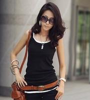 Women Fashion Spagehtti Strap Slim Waist Solid Camis XXS Free Shipping A527-9260