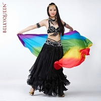 2013 NEW Performance #855 Belly Dance 100% Handmade Costume 6Pcs Bra+Belt+Skirt+Necklace+2Armlets,13Colors Available