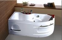 2013 hot sales bathroom acrylic bathtub massage bathtub with handshower and faucet