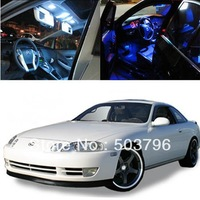 Free shipping 5x 5050 SMD Light LED Full Interior Lights Package Deal For 1992-2000 Lexus SC300 SC400