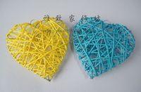 FreeShipping Lladro rattan heart of love heart sepak takraw decoration