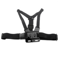 HOT & New Adjustable Chest Mount Harness For Gopro HD hero 2 / hero 3 Black l