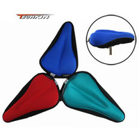 20718 TECHKIN colorful supporting groove set New Cycling Bike Bicycle Silicone Saddle Seat Cover Silica Gel Cushion Soft Pad