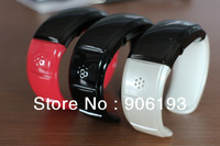 Bluetooth Bangle Bracelet phone support earphone and Mp3,Caller's name and number display vibration warning Free shipping