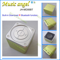 Bulk Price Of Original And Genuine Music Angel JH-MD06BT Mini Portable Bluetooth Wireless Speaker With Clear Crystal Box