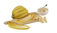 Banana Slicer Cutter Chopper for Fruit Salad Sundaes Cereal kitchen Helper