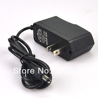 Free shipping 5 Pcs/Lot US Plug 12V 1A AC/DC  Converter Power Adapter Supply Charger