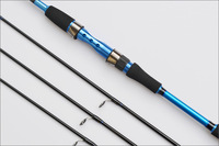 EMS free shipping 2014 Hot 2.1M Fishing Rod Spinning Rods with M/M/MH 3 Poles Fishing Rods Carbon in Blue