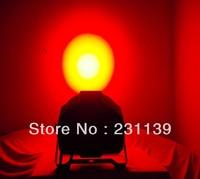 8Pcs/Lot Free Shipping DMX Stage Effects Light LED Uplighting  7 Channels LED Par 18 RGB 3W Wash Light