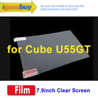 CN post 5PCS 7.9inch Protector Film for Cube U55GT Tablet PC Display Screen Excellent photopermeability / Phoenix On sales