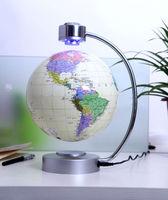 Stellanova Magnetic Levitating antigravity Floating  8 inch Globe World map Desktop home Office decoration