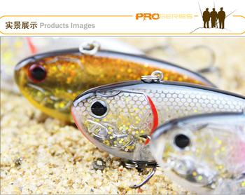 wholesale VIB Fishing lure bait 80mm 17.2g  Vibrator Salt water sinking Submersible type hard bait lures free shipping