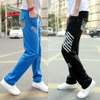 Free shipping mens Fashion harem pants baggy 2013 sports pants sweatpants dropship