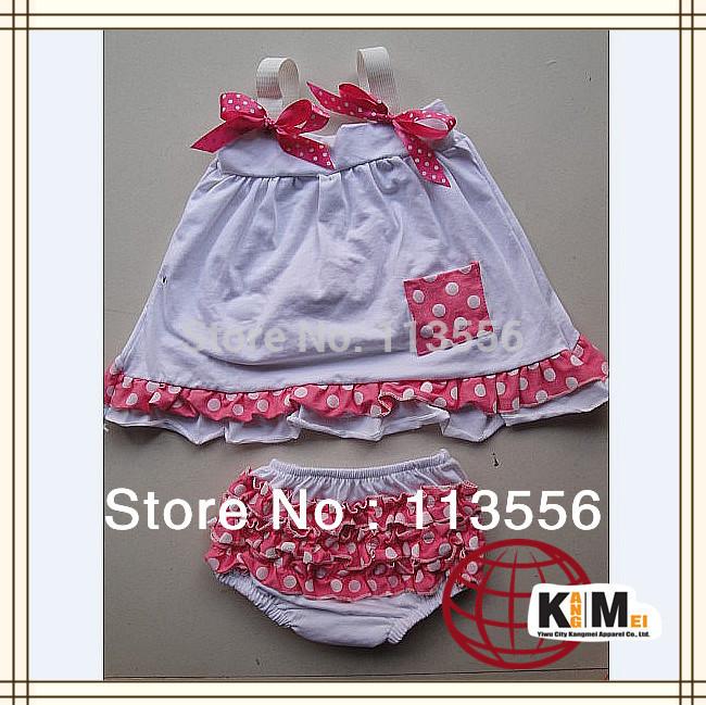 Hot selling fashion baby swing top back set 12SET/lot free shipping(China (Mainland))