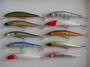 Hard lure set lure plastic vib fishing lure minnow