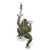 TP571(Min.Order $15)Wholesale 2014 New Items,Thomas Style,DIY Floating Lockets Frog Charms Pendants For Jewelry Making