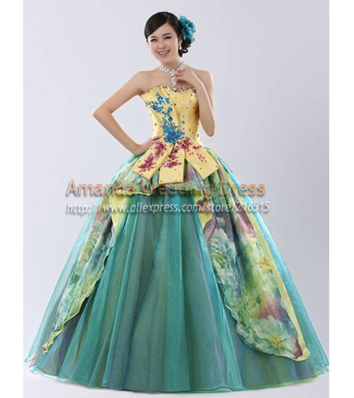 Teal Wedding Dresses Promotion Shop for Promotional Teal Wedding