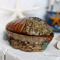Free shipping For dec  oration ceramic cover shell ashtray twiddlefish ashtray ashtray