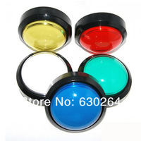 5 pcs of Diameter 100mm Dome Illuminated Push Button For Arcade Game Machine - Game Machine Accessory / Arcade Push Button