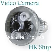 Wholesale 1pcs/lot Best Quality Bulb CCTV Home Security DVR Camera Digital Video Recorder Night Vision   Free HK Post  I11