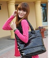 Hot-selling women's handbag street casual one shoulder paillette bag box bags female bag leather