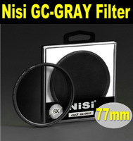 NEW arrival NiSi slim 77mm GND in gray gradient filter 77mm GC-GRAY Gradient gray Neutral Density filter +free shipping