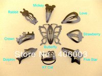 free shipping  baby  snap hair clips novelty  girls jewelry accessories barrete BB model hairpin