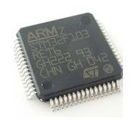 STMicroelectronics STM32F103RET6 STM32F103 STM32F103RE MCU ARM 512KB FLASH MEM 64-LQFP     IC qfp  mcu arm  new  d/C 14+  LQFP
