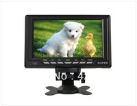 "7.8"" Color Wide LCD Screen Digital Car Monitor/TV (Black)"