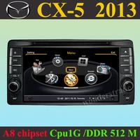 Car DVD Player  GPS navigation Radio for  Mazda CX-5 cx5 2013 +3G WIFI + CPU 1GMHZ + DDR 512M + v-20 Disc + DVR + A8 Chipset