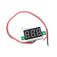 Mini DC 2.5-30V Red LED Panel Voltage Meter 3-Digital Display Voltmeter  S7NF