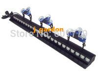 Car styling Traffic light Alarm warning Police fire Warning light  24 LEDs 3W Emergency Windshield Blue Strobe Lightbar