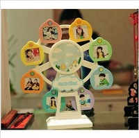 Windmill photo frame music rotating frame child photo frame baby photo frame