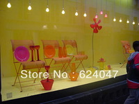 Free delivery cost White Rear holographic projection film/screen for 3D holo showcase,advertising,shop window display,trade show