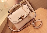 2013 white vintage bag handbag messenger bag female bags