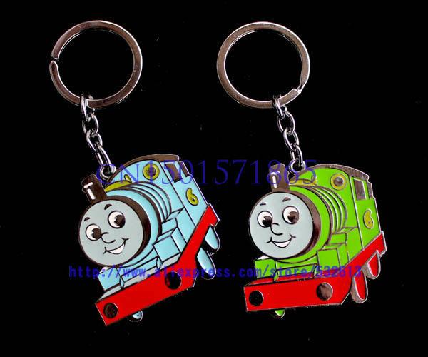 Free shipping lovely Thomas & Friends key chain lovely alloy key chain 40pcs/lot(China (Mainland))